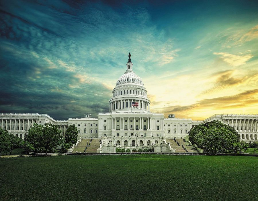 United States Capitol west fron